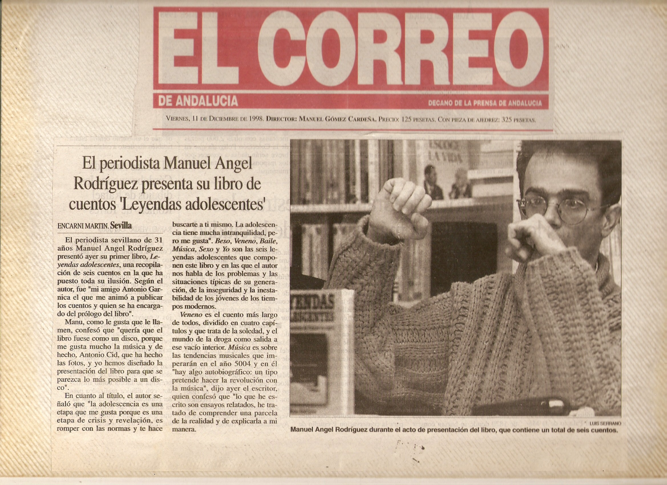 El Correo de Andalucía - 11/12/1998